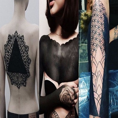 The coolest tattoo trends for 2017 ms mettle for Blackout tattoo back